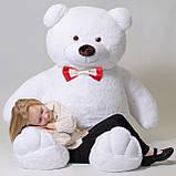 Плюшевий ведмедик Mister Medved Білий 2 метри, фото 2
