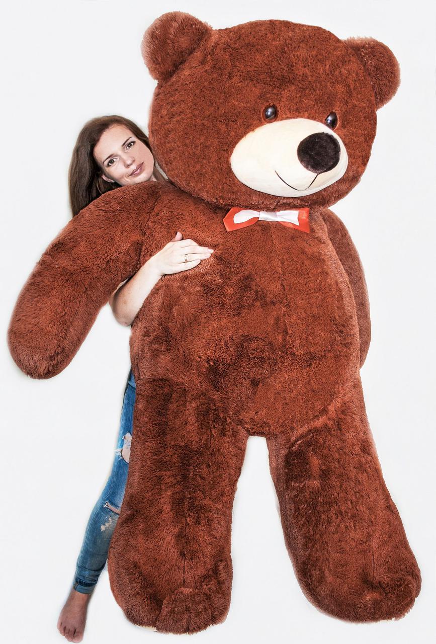 Плюшевий ведмедик Mister Medved Бурий 2 метри