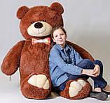 Плюшевий ведмедик Mister Medved Бурий 2 метри, фото 3