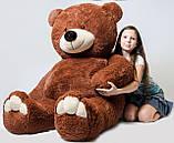 Плюшевий ведмедик Mister Medved Бурий 2 метри, фото 5