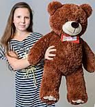 Плюшевий ведмедик Mister Medved Бурий 85 см, фото 2