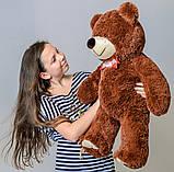 Плюшевий ведмедик Mister Medved Бурий 85 см, фото 3