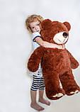 Плюшевий ведмедик Mister Medved Бурий 85 см, фото 4