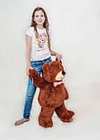 Плюшевий ведмедик Mister Medved Бурий 85 см, фото 5