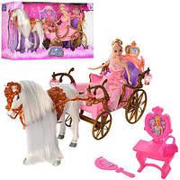 Карета с лошадью, принцессой и аксессуарами (207 А)