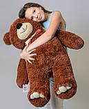 Плюшевий ведмедик Mister Medved Бурий 110 см, фото 3