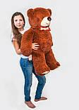 Плюшевый мишка Mister Medved Бурый 110 см, фото 4