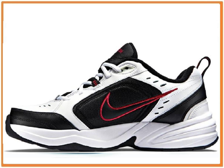 46e99116 Мужские кроссовки Nike Air Monarch IV White Black Red (найк монарх, белые /  черные / красные) 42, цена 1 355 грн., купить в Киеве — Prom.ua  (ID#859521663)