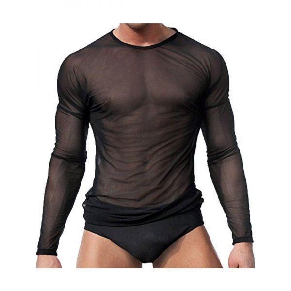 Чоловіча футболка напівпрозора