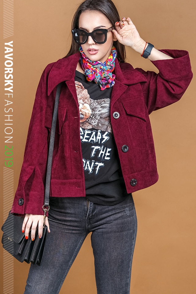 пиджак модный в стиле