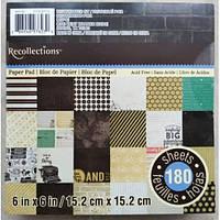 Набор бумаги для скрапбукинга США 180 л. Recollections True Story 15*15 см