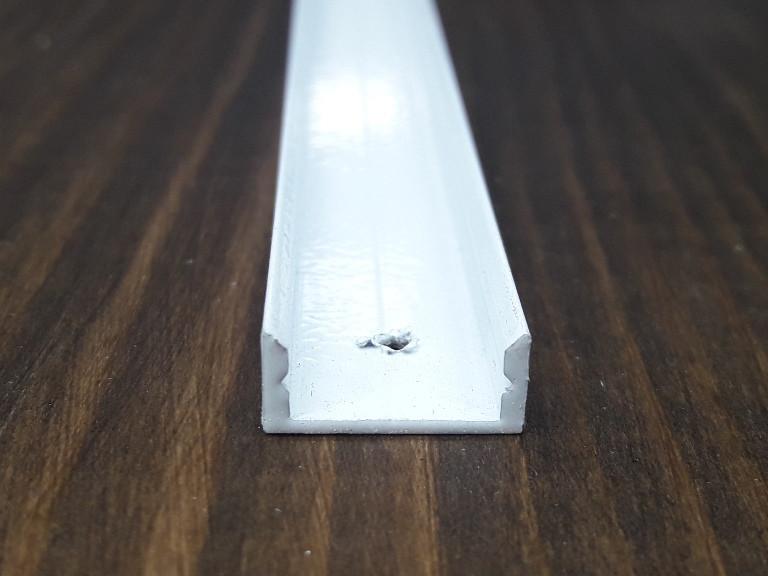 Профиль для светодиодной ленты z306 (аналог ЛП7) белый. Длина планки 2мп