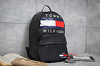 Рюкзак унисекс Tommy Hilfiger, черные (90153),  [ 1  ], фото 1