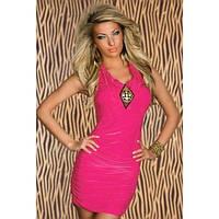 Еротичне облягаюче плаття рожеве