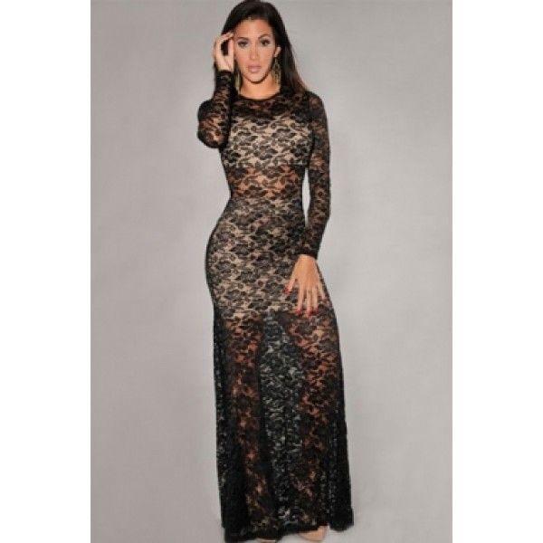 Мереживне вечірнє плаття