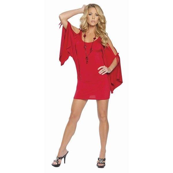 Облягаюче червоне плаття