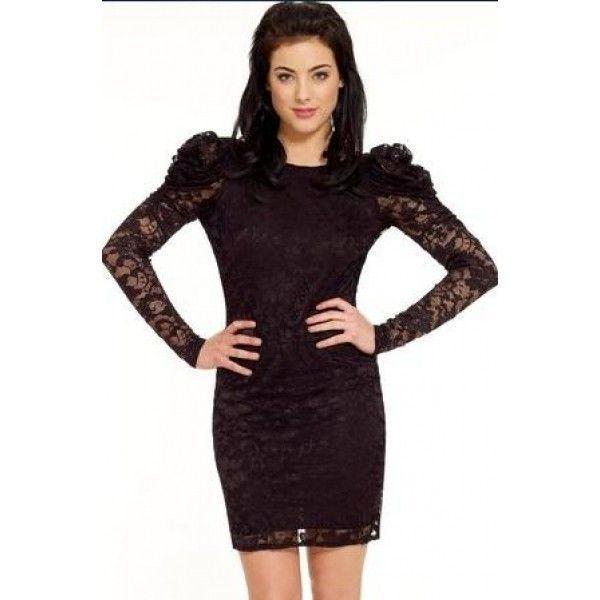 Сексуальне чорне плаття