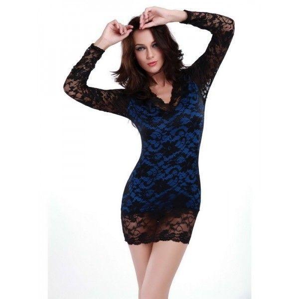 Клубне мереживна сукня