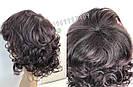 Простой натуральный женский парик, кудрявый короткий, фото 6