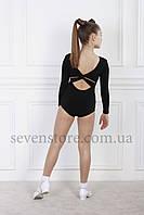 Купальник для танцев Sevenstore 8106 Черная