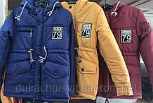 """Демісезонна куртка """"Парку"""" для хлопчиків від виробника"""