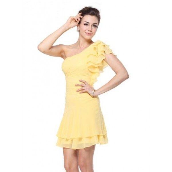 РАСПРОДАЖА! Платье с объемным рукавом на одно плече