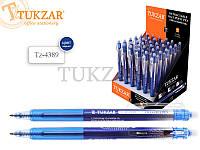 Ручка со стираемыми чернилами FLAVER, 0.7мм, с ластиком, тонированный корпус, цвет чернил - синий