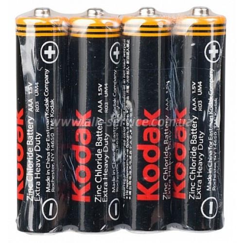 АКЦИЯ!!! Батарейка KODAK Extra Heavy Duty AAA / R3 (S4) 60 в короб