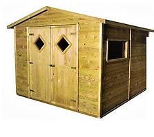Хозблок, сарай, бытовка деревянная для дачи 2620*2640*2180