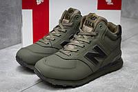 Зимние кроссовки New Balance 574, зеленые (30134),  [  45 (последняя пара)  ], фото 1