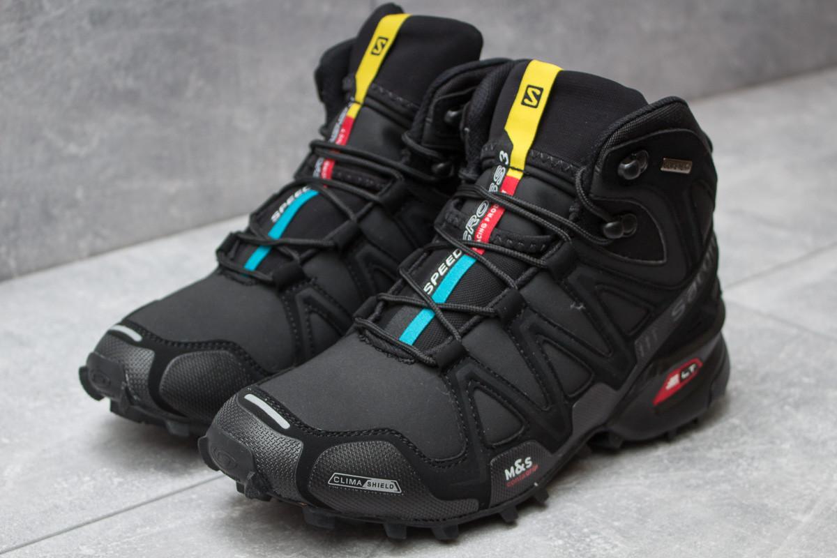 510bd8545 Зимние ботинки Salomon Speedcross 3 M&S Contagrip, черные (30181), [ 41 43 ]