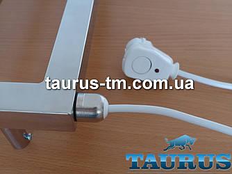 Мощный нержавеющий ТЭН TERMA SIM + кнопка, термостат 60С для полотенцесушителей, мощность 800W-1500W