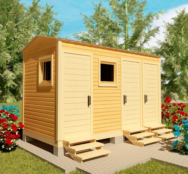 Хозблоки, сараи для сада, бытовки для дачи - это ландшафтные строения, необходимые для полноценного использования дачи, фото 2