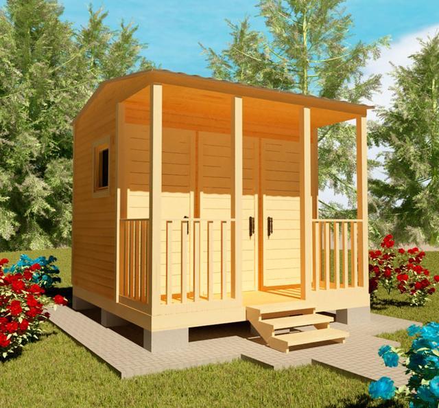 Хозблоки, сараи для сада, бытовки для дачи - это ландшафтные строения, необходимые для полноценного использования дачи, фото 3