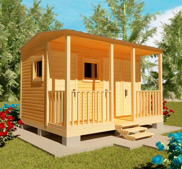 Хозблоки, сараи для сада, бытовки для дачи - это ландшафтные строения, необходимые для полноценного использования дачи, фото 4