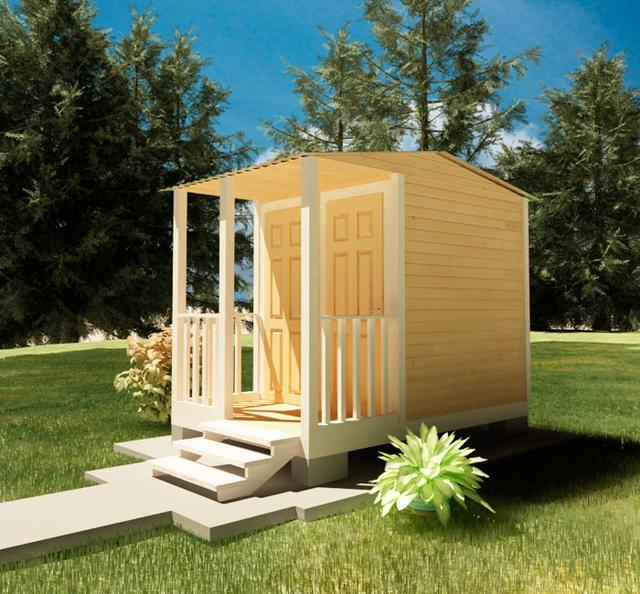 Хозблоки, сараи для сада, бытовки для дачи - это ландшафтные строения, необходимые для полноценного использования дачи, фото 5