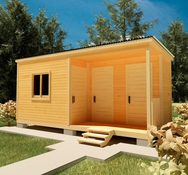 Хозблоки, сараи для сада, бытовки для дачи - это ландшафтные строения, необходимые для полноценного использования дачи, фото 9