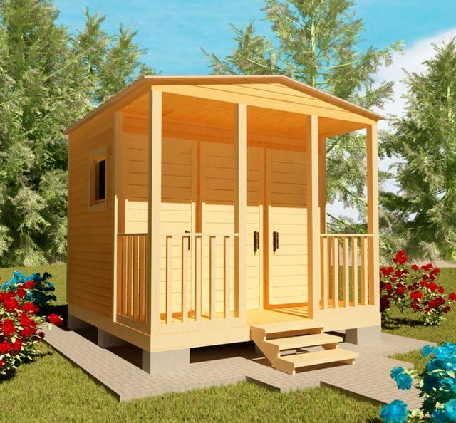 Хозблоки, сараи для сада, бытовки для дачи - это ландшафтные строения, необходимые для полноценного использования дачи, фото 10