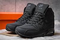 Зимние ботинки на меху Nike Air Max, черные (30472),  [  44 (последняя пара)  ], фото 1
