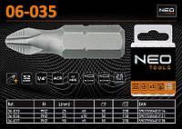 Бита-насадка ACR PH2x25мм, 5шт.,  NEO 06-035