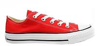 "Кеды Converse Chuck Taylor All Star Low ""Red/White"" Арт. 0328"