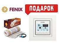 Теплый пол Fenix нагревательный мат двухжильный LDTS160/640Ват/4 м² + в подарок терморегулятор terneo pro