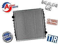 Радиатор Ман 8.163 L2000, 8.150, 8.180 LE 140-220 для грузовиков Man охлаждения двигателя запчасти 81061016396