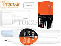 Ручка-корректор TUKZAR c белоснежной корректирующей жидкостью. Обладает прекрасной укрывистостью, идеально зак