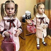 Детское пальто, пальто на девочку,весеннее пальто  family look, фото 1