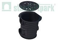 Комплект: Дождеприемник-пескоуловитель Spark пластиковый круглый