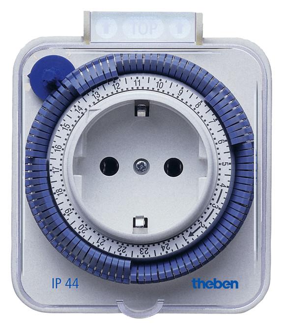 Розеточный таймер (бытовое реле времени) Timer 26 IP44 Theben, th 0260855