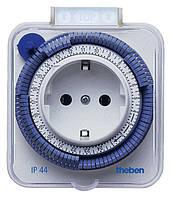 Розеточный таймер (бытовое реле времени) Timer 26 IP44 Theben