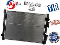 Радиатор Ман F2000, F90 Тгл Тгм л2000 запчасти охлаждения двигателя Man для грузовиков 81061016407