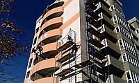 Монтажные работы по утеплению и ремонту фасада